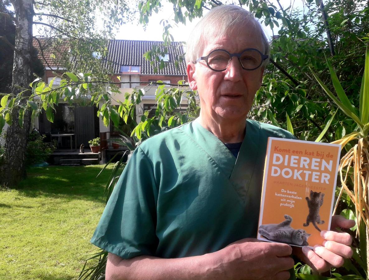 Sus Van Tendeloo, alias Maarten Jagermeester, presenteert zijn nieuwste boek 'Komt een kat bij de dierendokter'