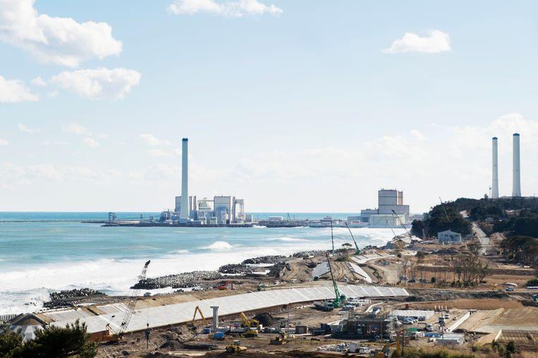 De kerncentrale van Fukushima. Beeld Sanne De Wilde