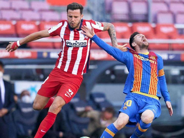 Barcelona blijft steken op gelijkspel tegen Atletico Madrid