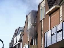 Brand in flatwoning aan de Tuinstraat