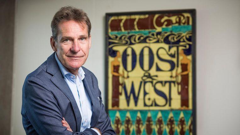Gert Oostindie, hoogleraar en directeur van Het Koninklijk Instituut voor Taal-, Land- en Volkenkunde (KITLV). Beeld Freek van den Bergh