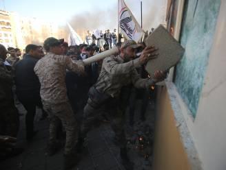 VS stuurt extra troepen na bestorming van ambassade in Bagdad