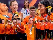 Heel even leek dit sportfeest de geschiedenis in te gaan als een enorme oranje sof