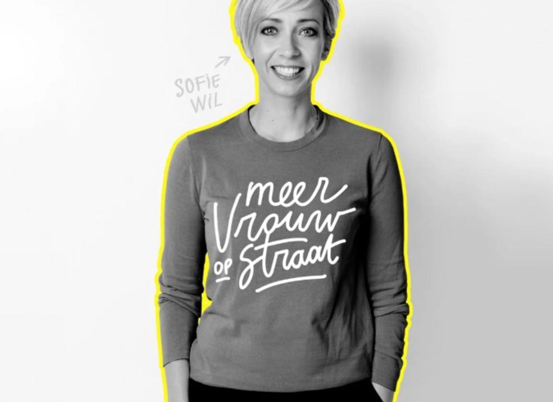 Sofie Lemaire wil 'meer vrouw op straat' Beeld Canvas