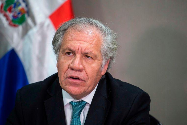 Luis Almagro. Beeld AFP