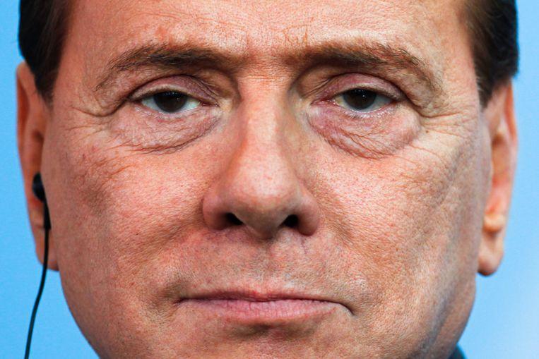 Berlusconi. Beeld AP
