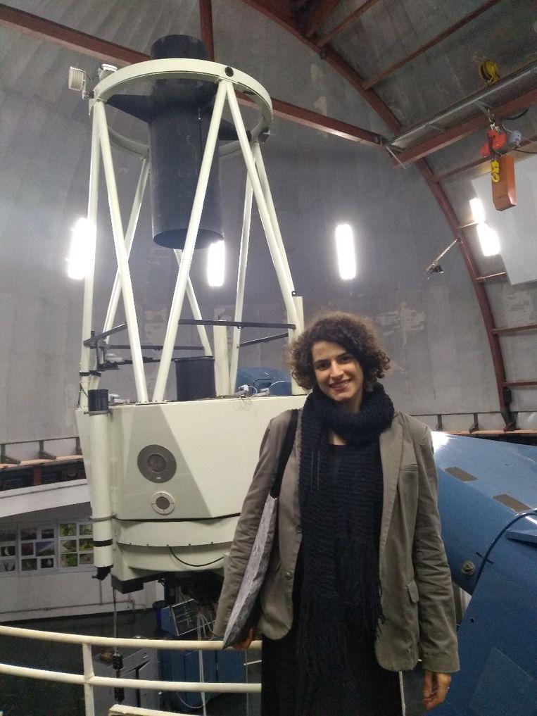 Astronoom Catarina Aydar. Beeld Wies Ubags
