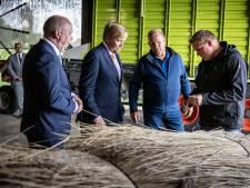 Koning komt 'vooral luisteren' naar boeren en riettelers in Kop van Overijssel