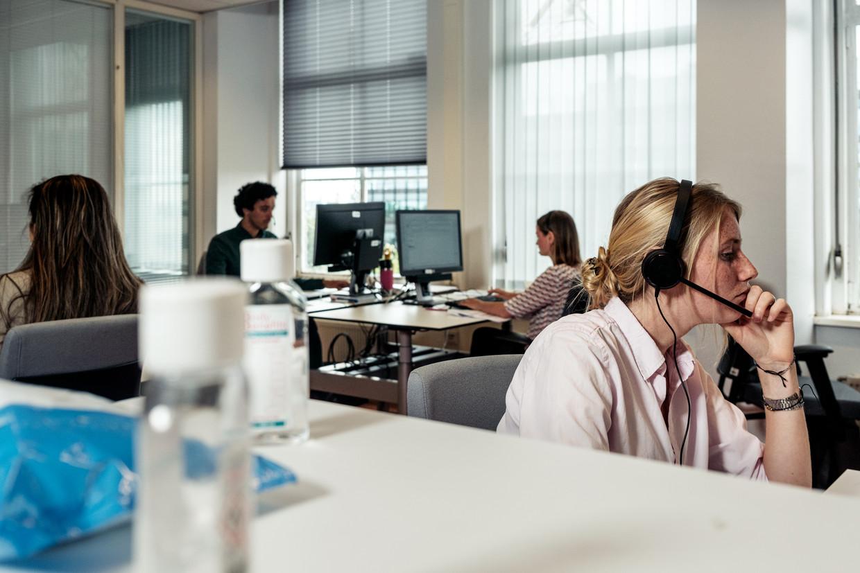 GGD call center voor bron- en contactonderzoek.