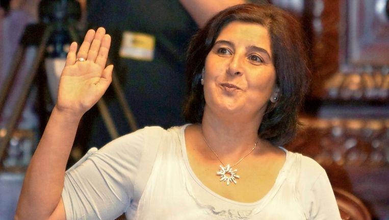 PS-senatrice Fatiha Saïdi