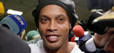 Huisarest voor Ronaldinho en broer na verlaten gevangenis