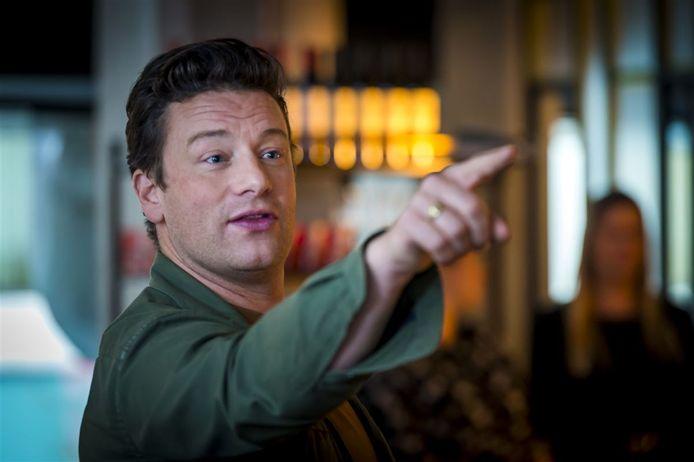 De Engelse meester-kok Jamie Oliver op archiefbeeld.