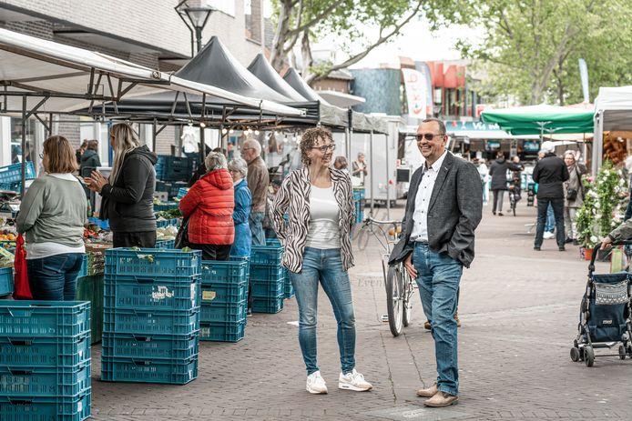 Elle Joosten en Dick Nieuwland, initiatiefnemers van ZevenAardig.