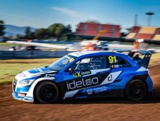 Enzo Ide rijdt Rallycross Nordic kampioenschap
