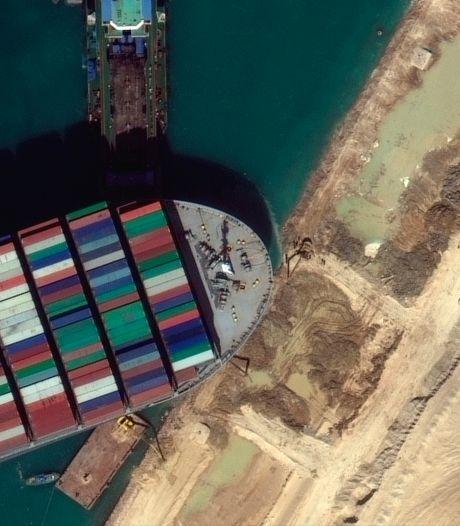L'Ever Given saisi par un tribunal égyptien après avoir bloqué le canal de Suez