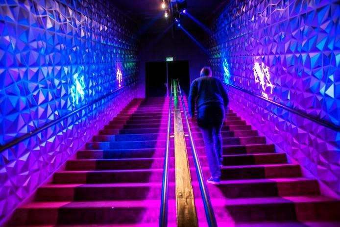 Club Eye ondergronds bij het Pieter Vreedeplein. Foto Jan van Eijndhoven