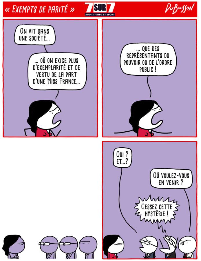 """""""Exempts de parité"""", 27 juillet 2020"""