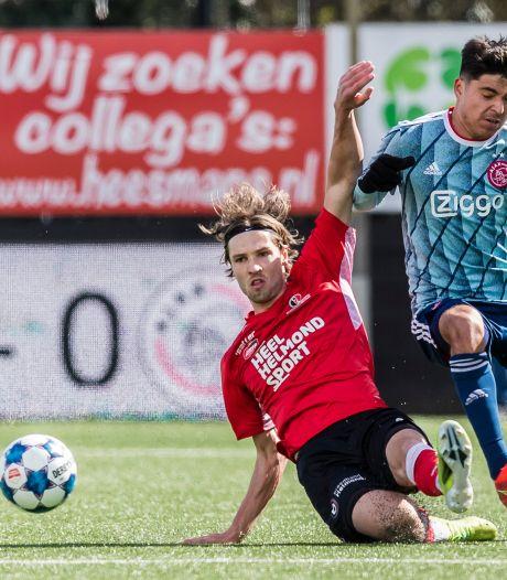 Helmond Sport slikt eerste puntenverlies in vierde periode na moeizame wedstrijd tegen Jong Ajax