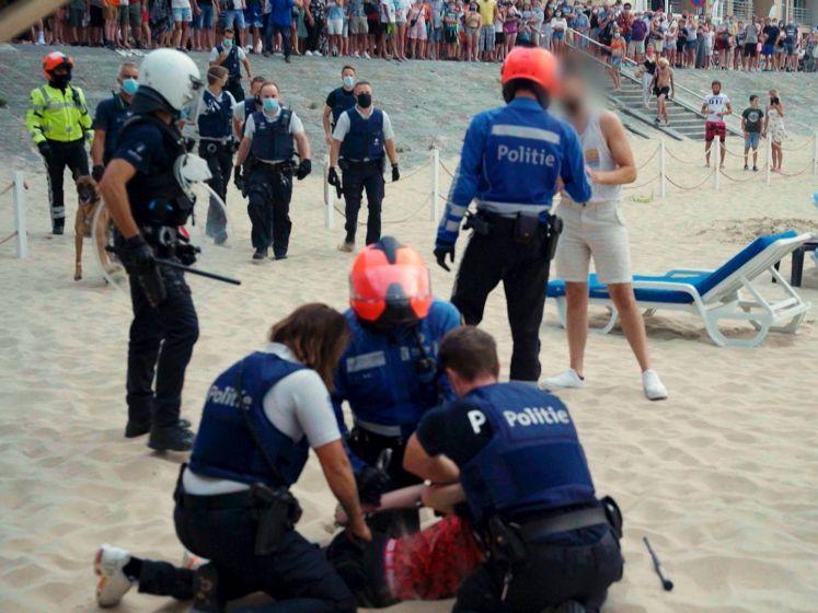 Zo beleefde politie vorige zomer rellen op strand Blankenberge