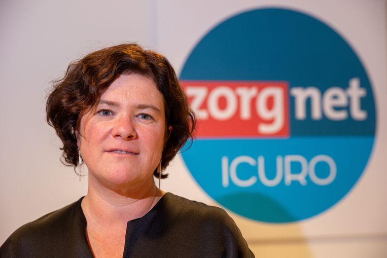 Margot Cloet, topvrouw van koepelorganisatie Zorgnet-Icuro, vindt dat de lijsten meteen gepubliceerd mogen worden.  Beeld BELGA