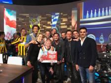 Wethouder wenst Jodan Boys 10 succes met Fox Sports-wedstrijd