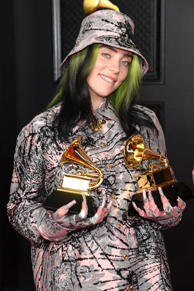 Billie Eilish won nummer van het jaar.  Beeld Getty Images