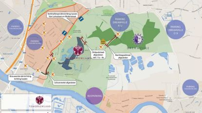Tijdelijke verkeersmaatregelen voor Tomorrowland, maar handelaars blijven bereikbaar