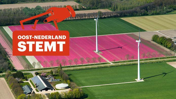 Hoe stemt Flevoland? Er staan in ieder geval meerdere Flevolanders op de kieslijsten.
