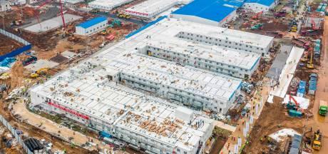 La Chine ouvre son nouvel hôpital construit en deux semaines à peine