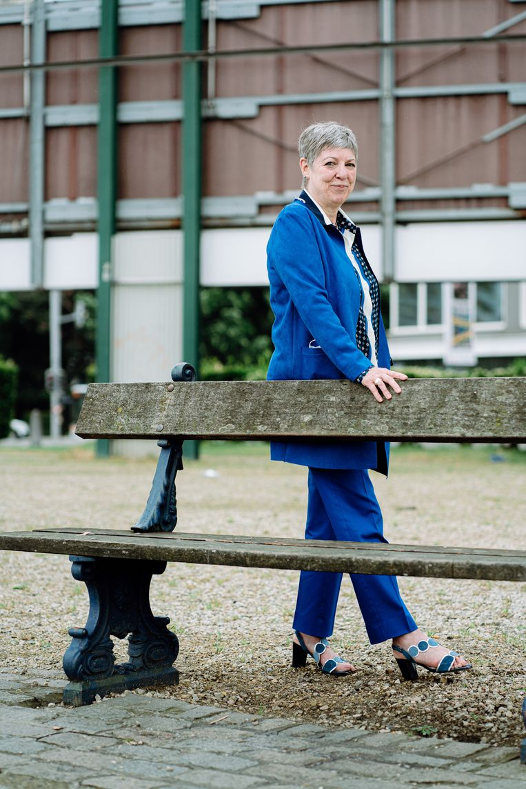 Raymonda Verdyck, topvrouw van het Gemeenschapsonderwijs. Beeld Wouter Van Vooren