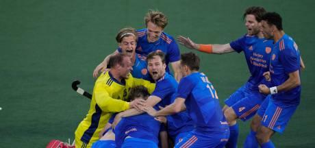 Hockeyers Oranje na zinderende shoot-outs tegen België naar EK-finale