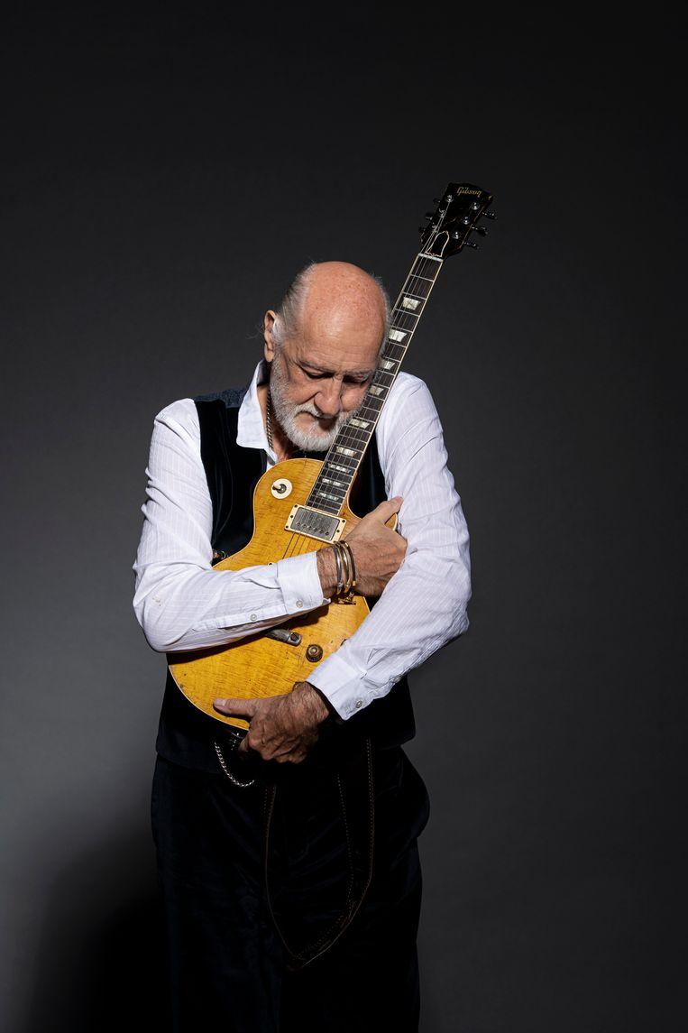 Mick Fleetwood: 'Muzikanten hebben nu meer tijd om te componeren en te experimenteren. Ik verwacht na de pandemie heel wat goeie muziek.' Beeld Ross Halfin