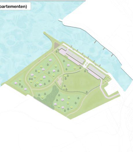 Wonen aan de nieuwe dorpshaven van Moerdijk, met uitzicht op het Hollandsch Diep