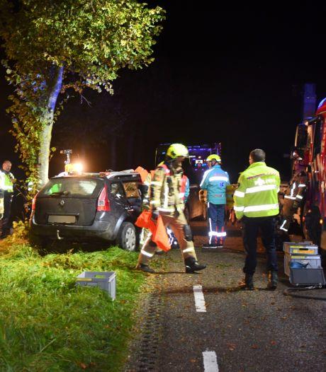 Zwaargewonde bij eenzijdig ongeluk Aardenburg