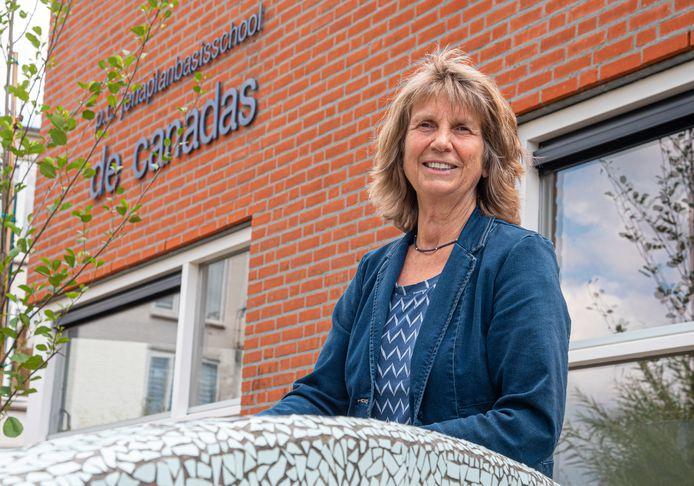 Els Vissers was tot voor kort adjunct-directeur van jenaplanbasisschool De Canadas in Boxmeer. Ze gaat nu met pensioen.