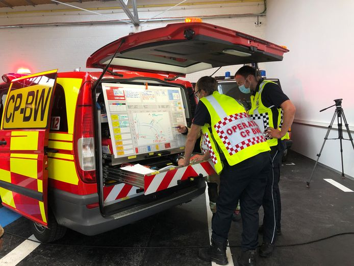 Asse: PIVO ontwikkelde unieke opleiding voor hulpdiensten om grootschalige rampen te bestrijden