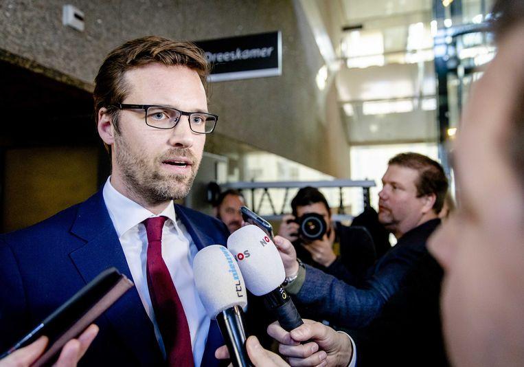 Sjoerd Sjoerdsma (D66): 'Wij doen onvoldoende voor rechtstreeks contact met de Russische bevolking'. Beeld ANP