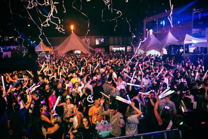 Een sfeerbeeld van de vorige editie van Supervision. Als het festival doorgaat, zal het in elk geval niet op het Maczekplein zijn.