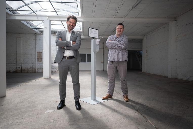 Olivier Glorieux en Steve Pithie nemen met Yucopia hun intrek in een pand in de Nekkerspoelstraat in Mechelen
