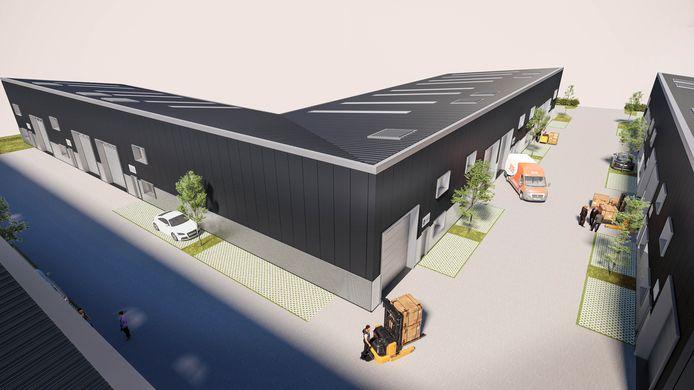 Er komt een verzamelgebouw van 4000 vierkante meter opgesplitst in units van 200 vierkante meter