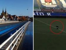 Van blauwe brug tot gestolen schaal: dit zijn de meest opmerkelijke acties rond de IJsselderby