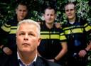 Gerrit van de Kamp, een van de vakbondsleiders die al maanden in de clinch liggen met minister Grapperhaus.