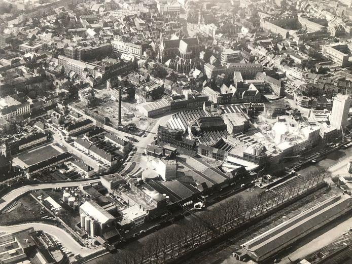 Situatie in 1970.
