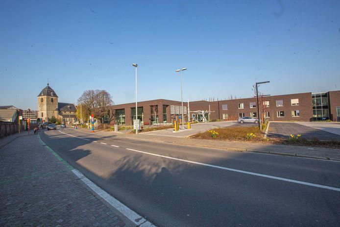De Bellestraat in het centrum van Hekelgem.