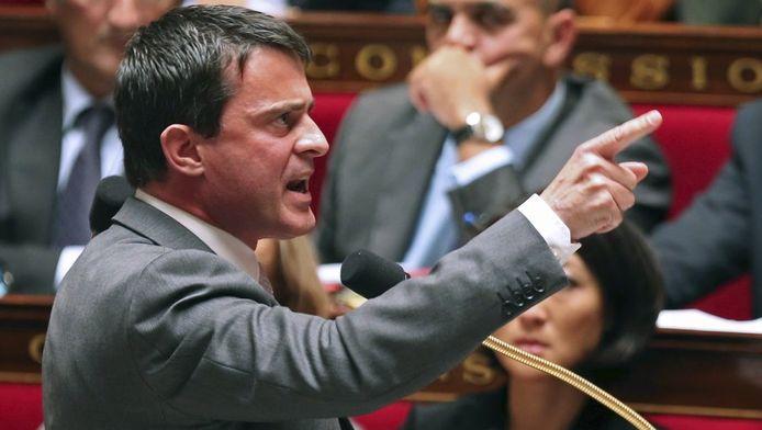 """""""Le racisme, le fondamentalisme, ce n'est pas cela l'islam"""", a affirmé M. Valls."""