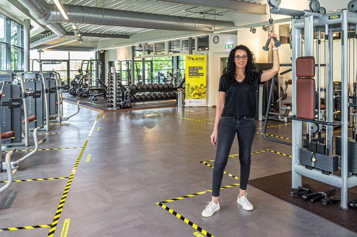 Archieffoto. Directeur Noura El Ayachi van Nippon the Healthclub in Schoonhoven was mei vorig jaar furieus over de recente uitspraken van het kabinet ten aanzien van sportscholen en fitnesscentra.