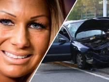 Samantha de Jong buiten levensgevaar na ernstig auto-ongeluk