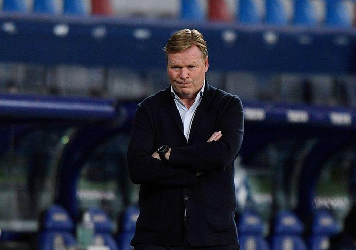 FC Barcelona-trainer Ronald Koeman.
