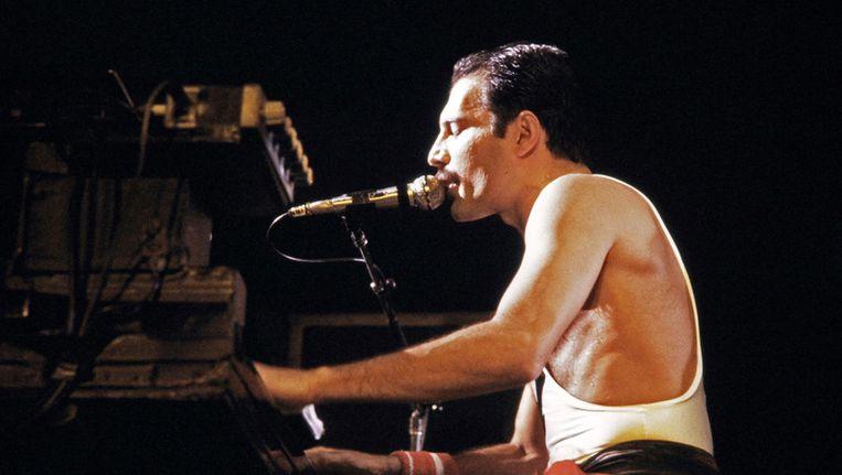 Freddie Mercury Beeld ANP
