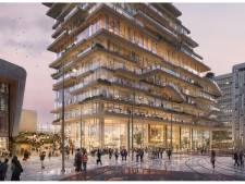 Nieuwe blikvanger van glas en hout pal naast Rotterdam Centraal